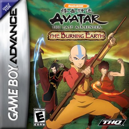 Avatar: The Last Airbender - the Burning Earth GBA ()