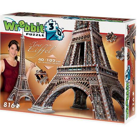 Eiffel Tower 3D Puzzle: 816 Pieces