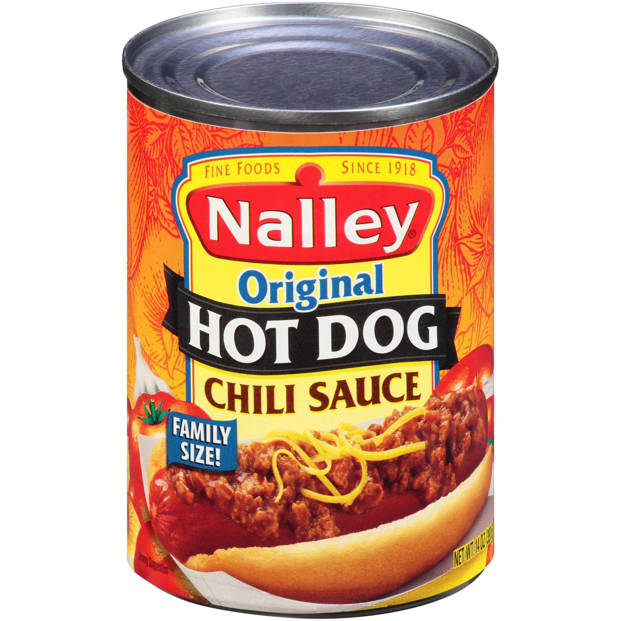 (3 Pack) Nalley® Original Hot Dog Chili Sauce 14 oz. Can