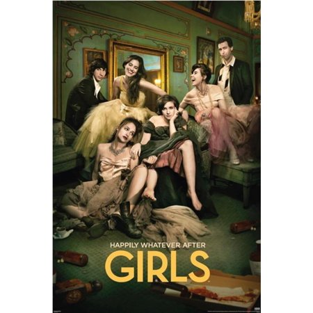 Girls Season 3 Lena Dunham Formal Party Nyc Comedy Hbo Tv Series Poster   24X36 Inch