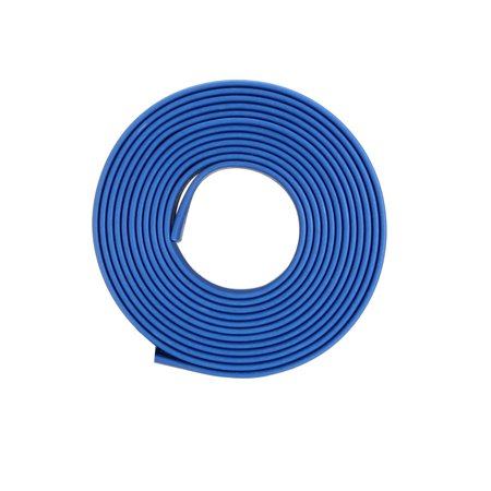 Heat Shrink Tube 2:1 Electrical Insulation Tubing Blue 11mm Diameter 1m Length Blue Heat Shrink Tubing