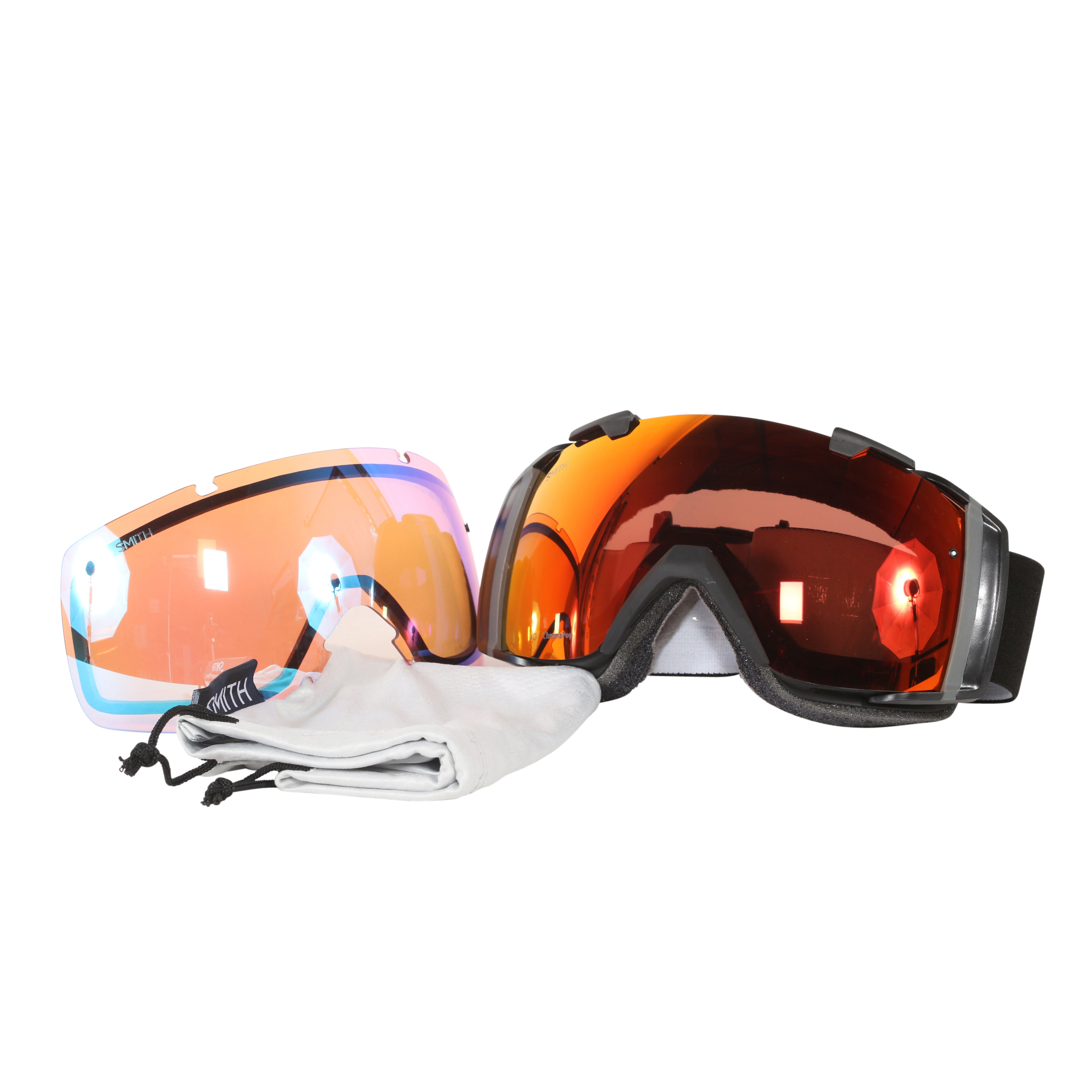 Smith Optics Black ChromaPop Everyday I O Interchangeable Snow Goggles by Smith Optics