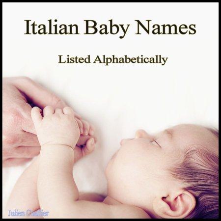 Italian Baby Names - eBook