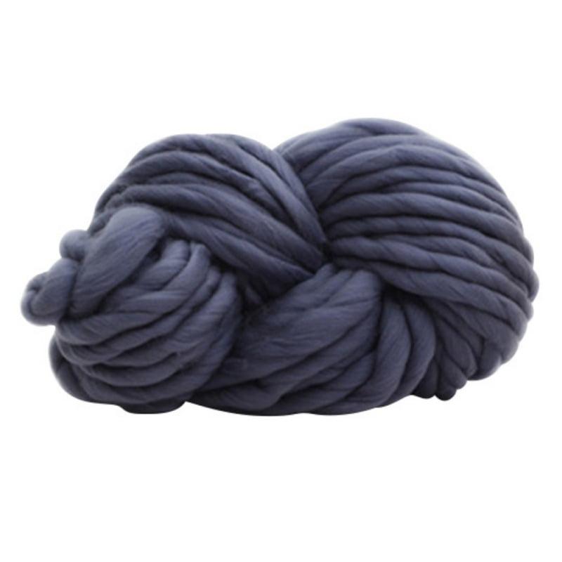 MarinaVida DIY Chunky Wool Yarn Super Soft Bulky Arm Knitting Wool Roving Crocheting