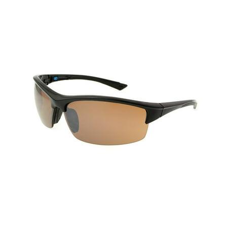 Extreme Optiks  Unisex Eog 5 Blk Golf Hd Sunglasses