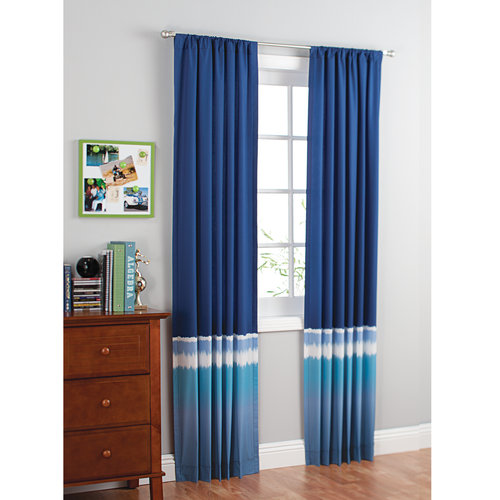 your zone tie dye curtain