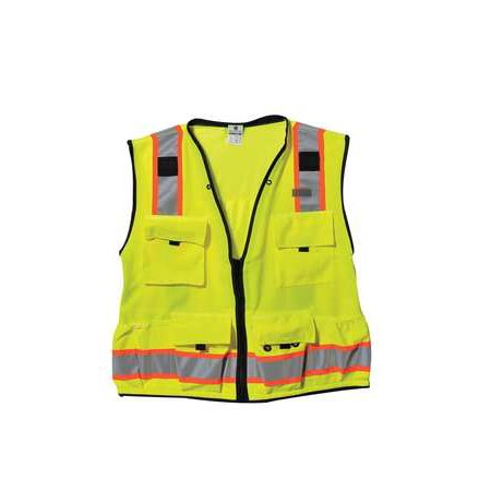 Brw Safety   Supply High Visibility Vest Class 2 M Lime S5000 M