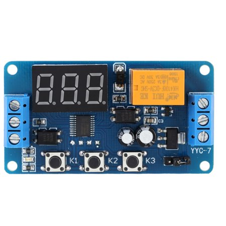 LED Display Automation Digital Delay Timer Control Relay Switch Module 3V/3.7V/4.5V/5V/6V (Automation Module)
