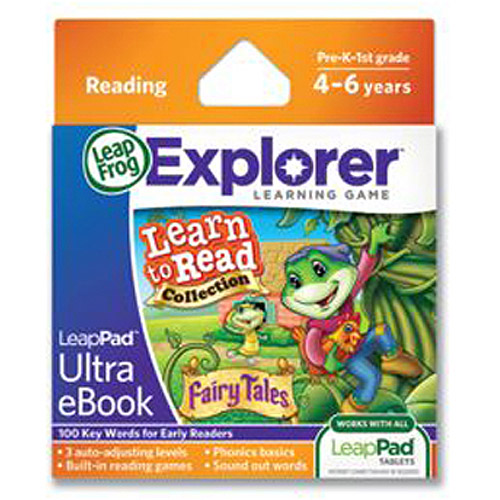 LeapFrog LeapPad Ultra eBook Learn to Read Collection: Fairy Tales