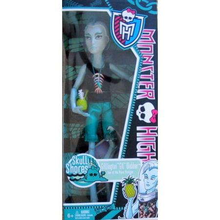 Monster High Skull Shores Gillington Gil Webber Son Of The Monster  2011