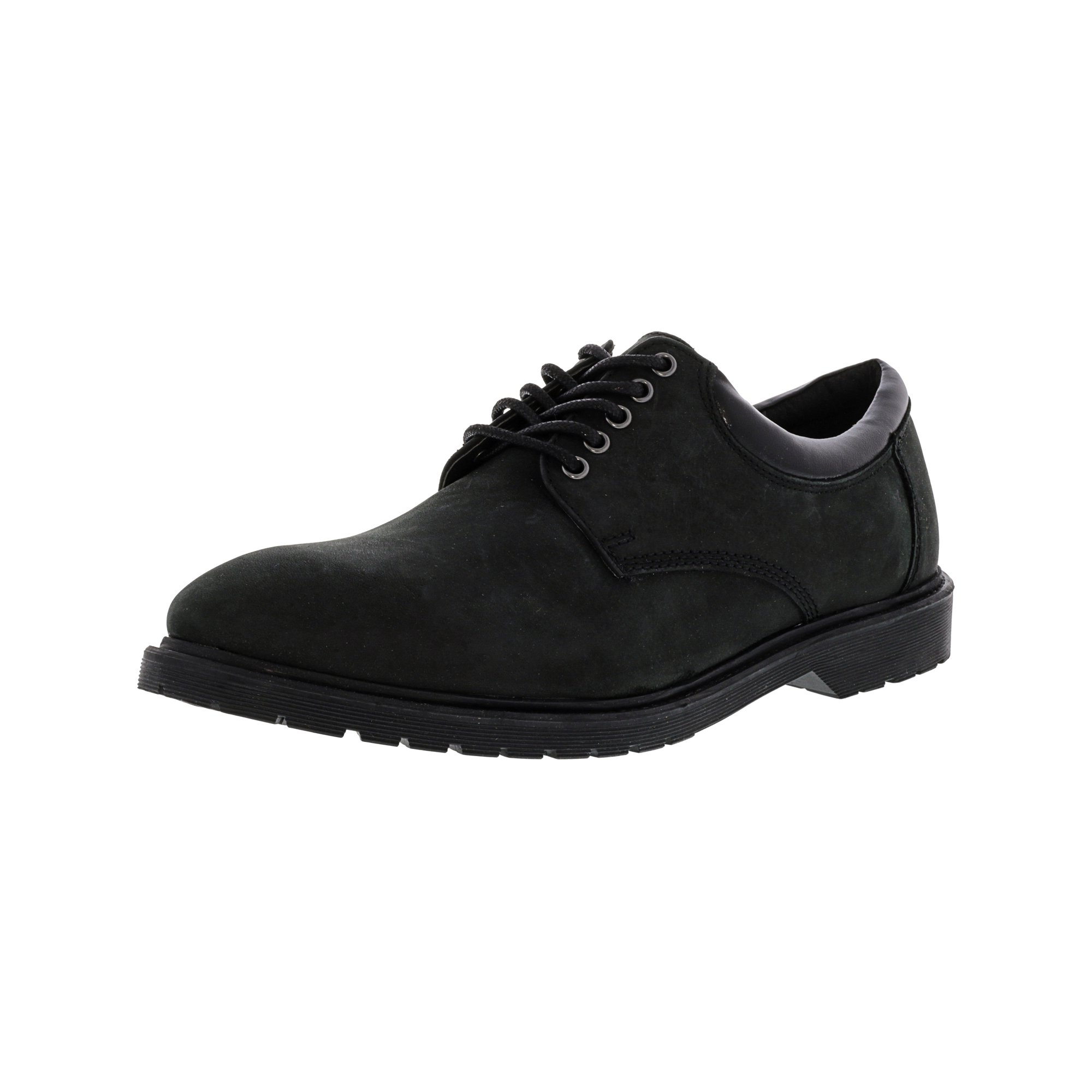 2119cf0a431 Steve Madden Men's Jiminy Black Ankle-High Leather Oxford Shoe - 7M