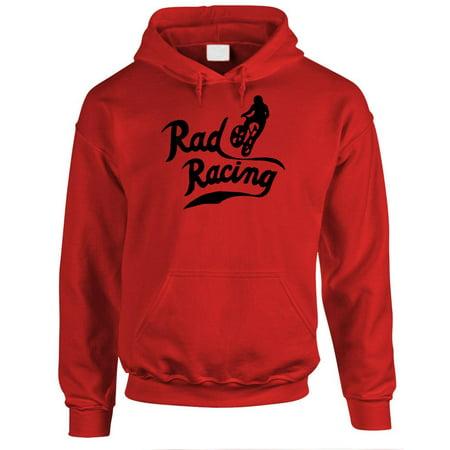 RAD RACING - retro vintage 80's movie bmx - Fleece PULLOVER