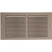"24"" X 6"" Pewter Cold Air Return Vent Cover / Grille"