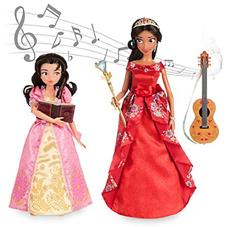 Official Elena of Avalor Deluxe Singing Doll Set - 11'' (with 10''
