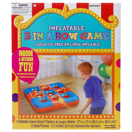 Three In A Row Games (INFLATE 3 IN A ROW PARTY GAME)