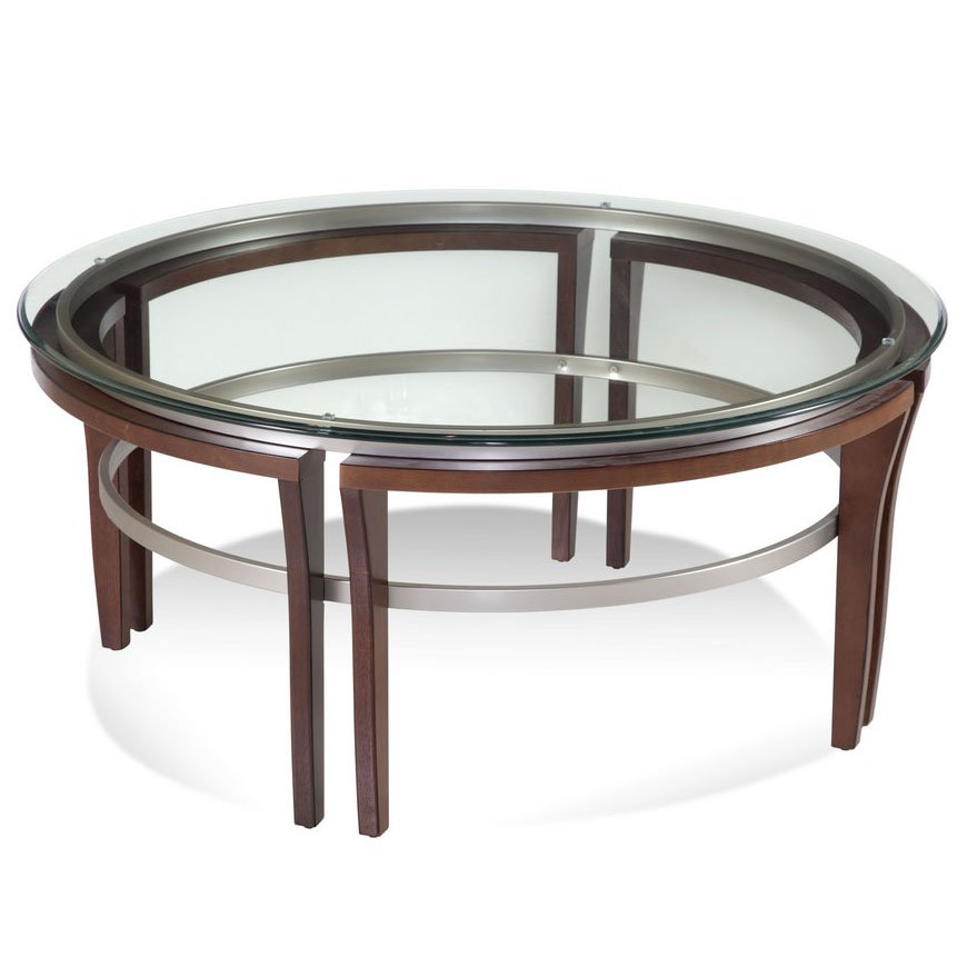Bassett 8116-120 911 Fusion Round Cocktail Table by