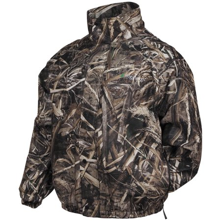 57748c01f02bb Frogg Toggs Pro Action Camo Rain Jacket Realtree Max 5 (Brown, Small) -  Walmart.com