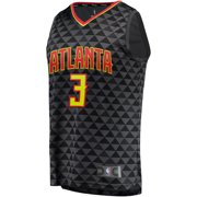 the latest 1d4b4 d5120 Kevin Huerter Atlanta Hawks Fanatics Branded Fast Break Replica Jersey -  Icon Edition - Black