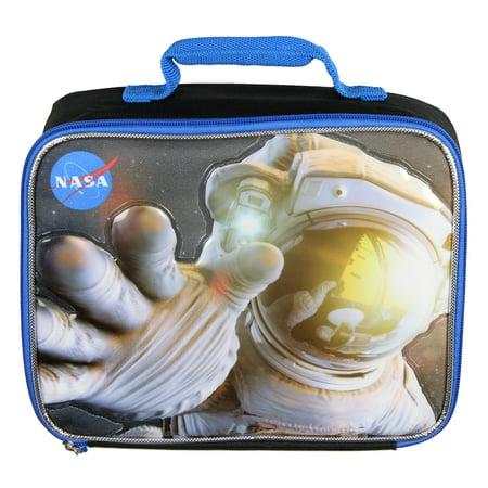 Buzz Aldrin NASA Lunch Box Kids 3D Astronaut Insulated School Lunch Bag NEW
