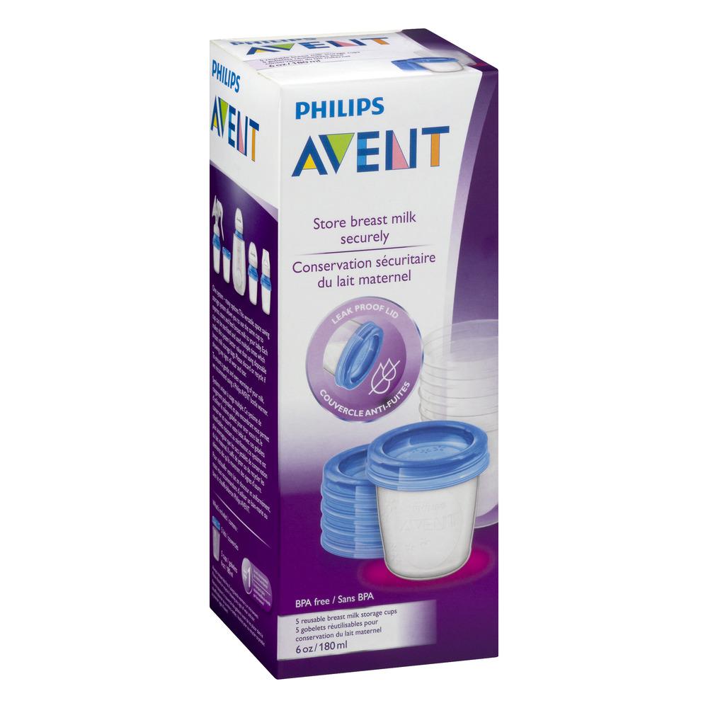 Philips Avent Store Breast Milk Securely 50 CT Walmartcom