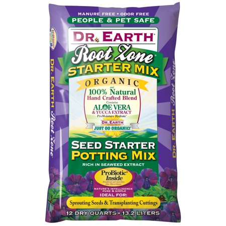 Dr. Earth 12 qt. Root Zone Seed Starter Potting Mix