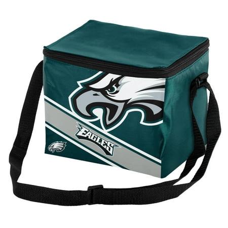 Forever Collectibles - Big Logo Stripe 6 Pack Cooler, Philadelphia Eagles