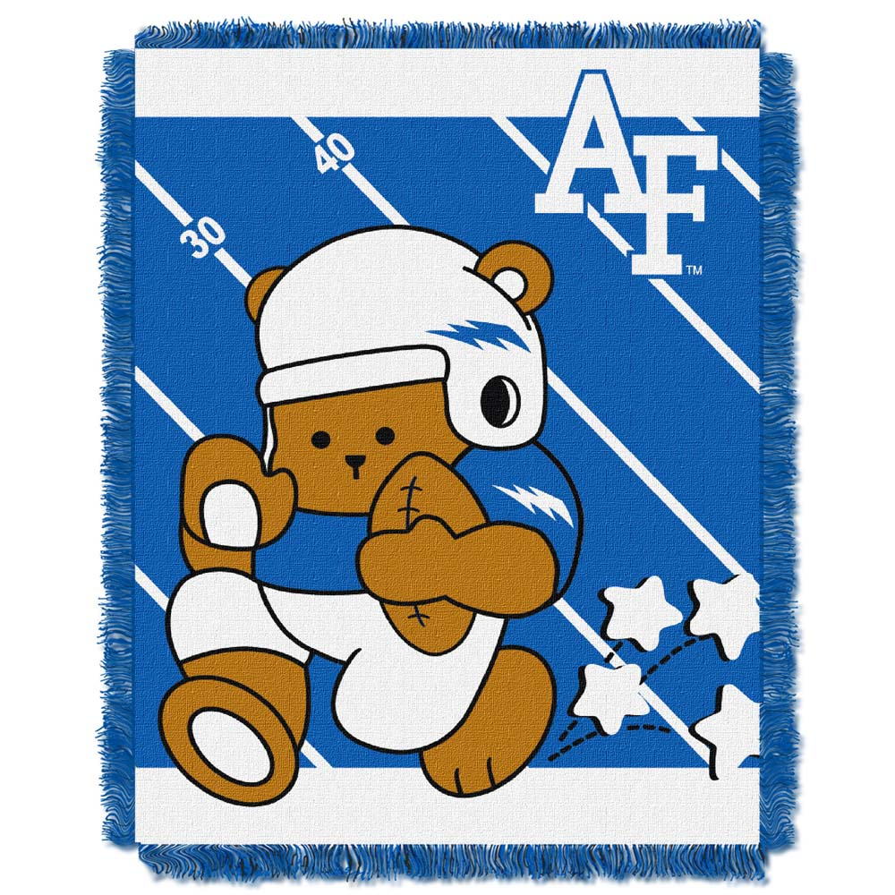 Air Force Jacquard BABY Throw Blanket