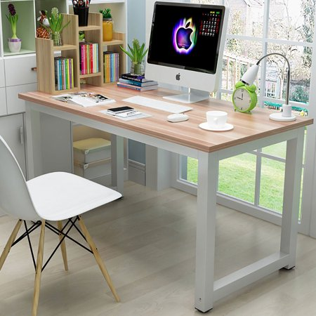 Ktaxon Wood Computer Desk PC Laptop Study Table Workstation Home Office Furniture ()