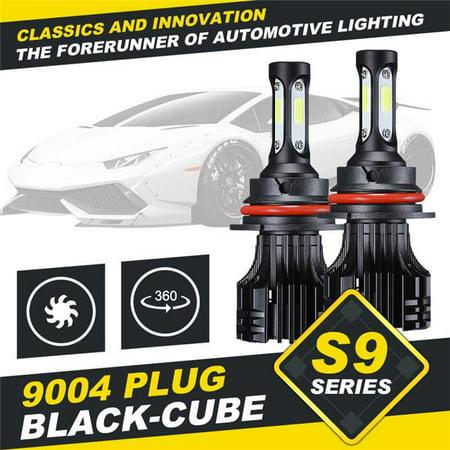 Auxbeam 70025649 S9 Series 9004 Hi-Lo Beam LED Headlight Conversion Bulb - 2 Piece