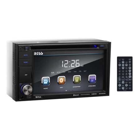 Boss Audio BV9362BI Double Din, Touchscreen, Bluetooth, DVD/CD/MP3/USB/SD AM/FM Car Stereo, 6.2 Inch Digital LCD Monitor, Wireless