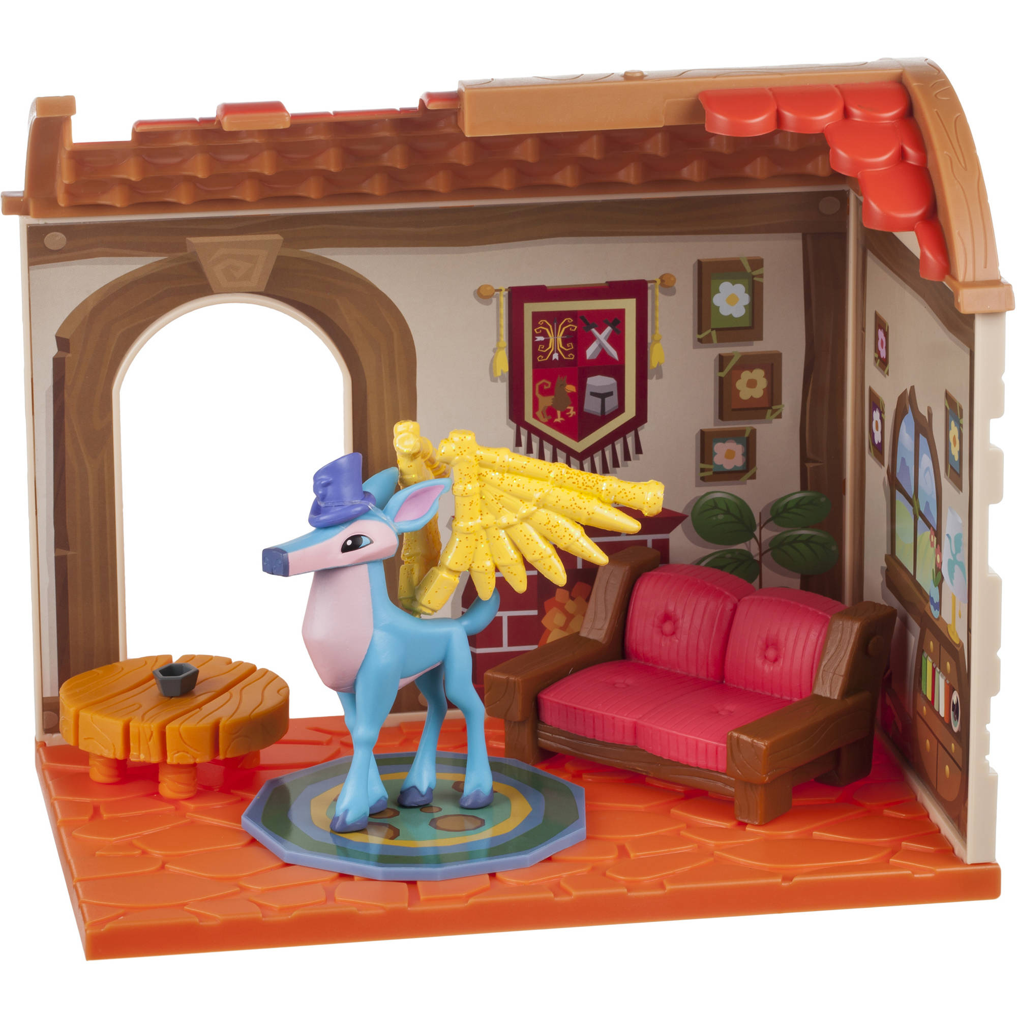 Animal Jam Small House with Exclusive Figure