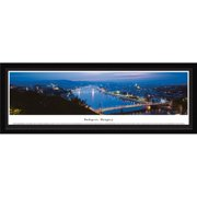 Budapest, Hungary - Blakeway Panoramas Print with Select Frame and Single Mat