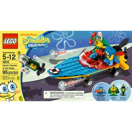 LEGO SpongeBob SquarePants Heroic Heroes of the Deep (Lego Spongebob Halloween Party)