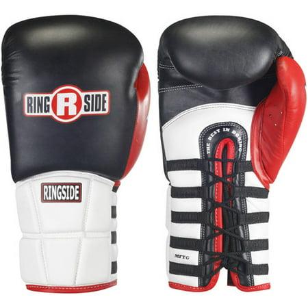 Ringside Pro Style IMF Tech Training Gloves (Black And White 2 V1 2 Trainer)