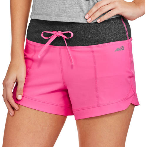 Avia Women's Active Stretch Woven Short with built in Liner
