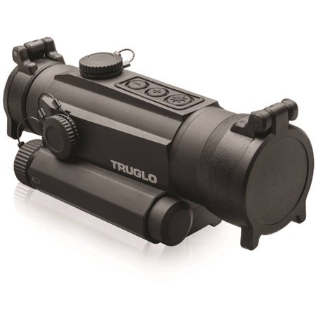 TruGlo Tru-Tec 30mm Red Dot Sight 2 MOA, Picatinny Style - Black - TG8130BN
