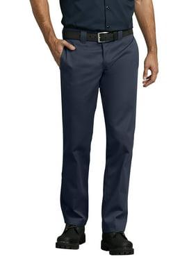 dickies men's slim straight work pants tan 36x30