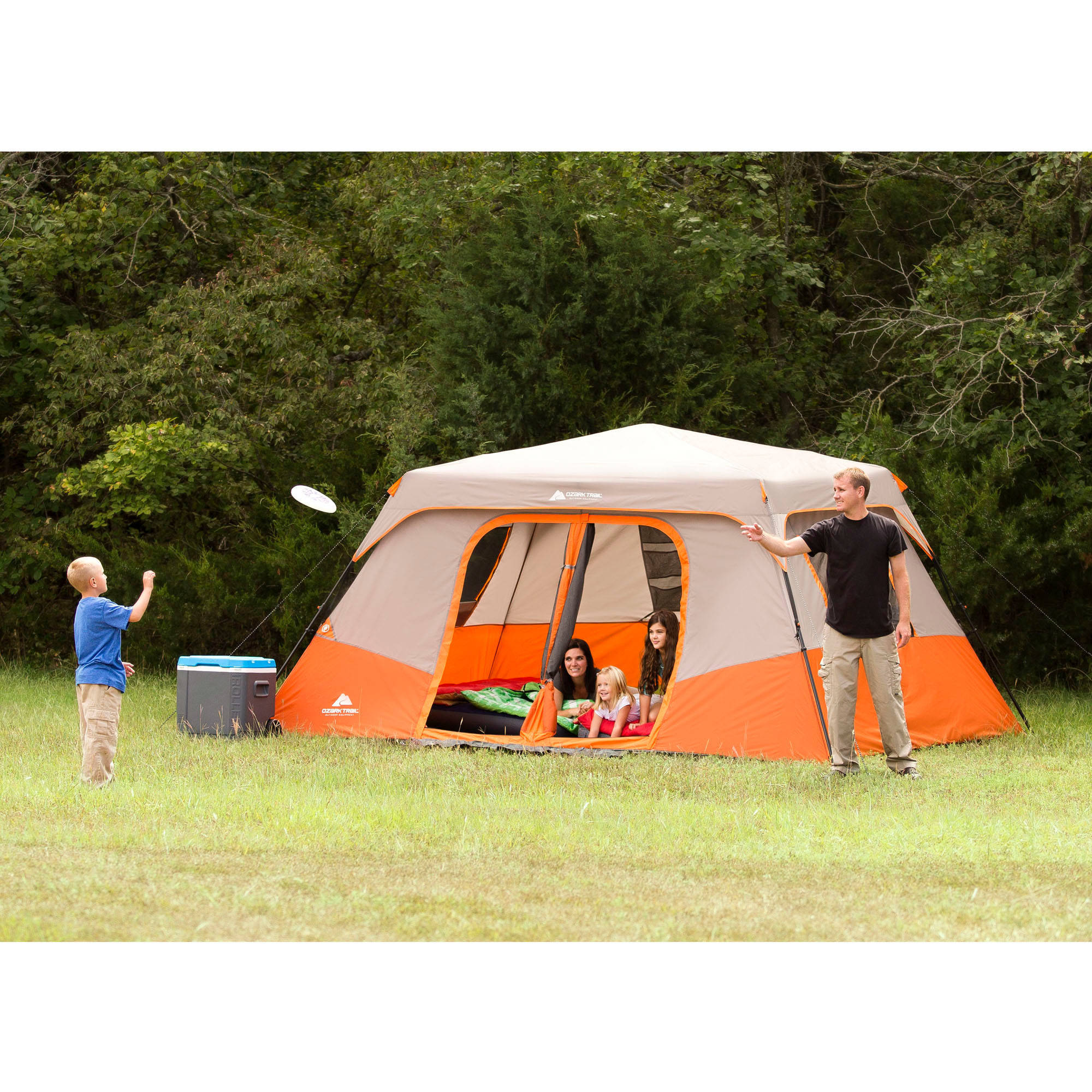 Ozark Trail 8 Person Instant Cabin Tent with 2 Cold Weather Chairs Value Bundle - Walmart.com  sc 1 st  Walmart & Ozark Trail 8 Person Instant Cabin Tent with 2 Cold Weather Chairs ...