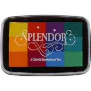 Splendor 12 Color Pigment Inkpad-Circus