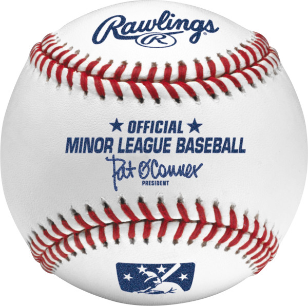 Rawlings Official Game Ball of Minor League Baseball by Rawlings