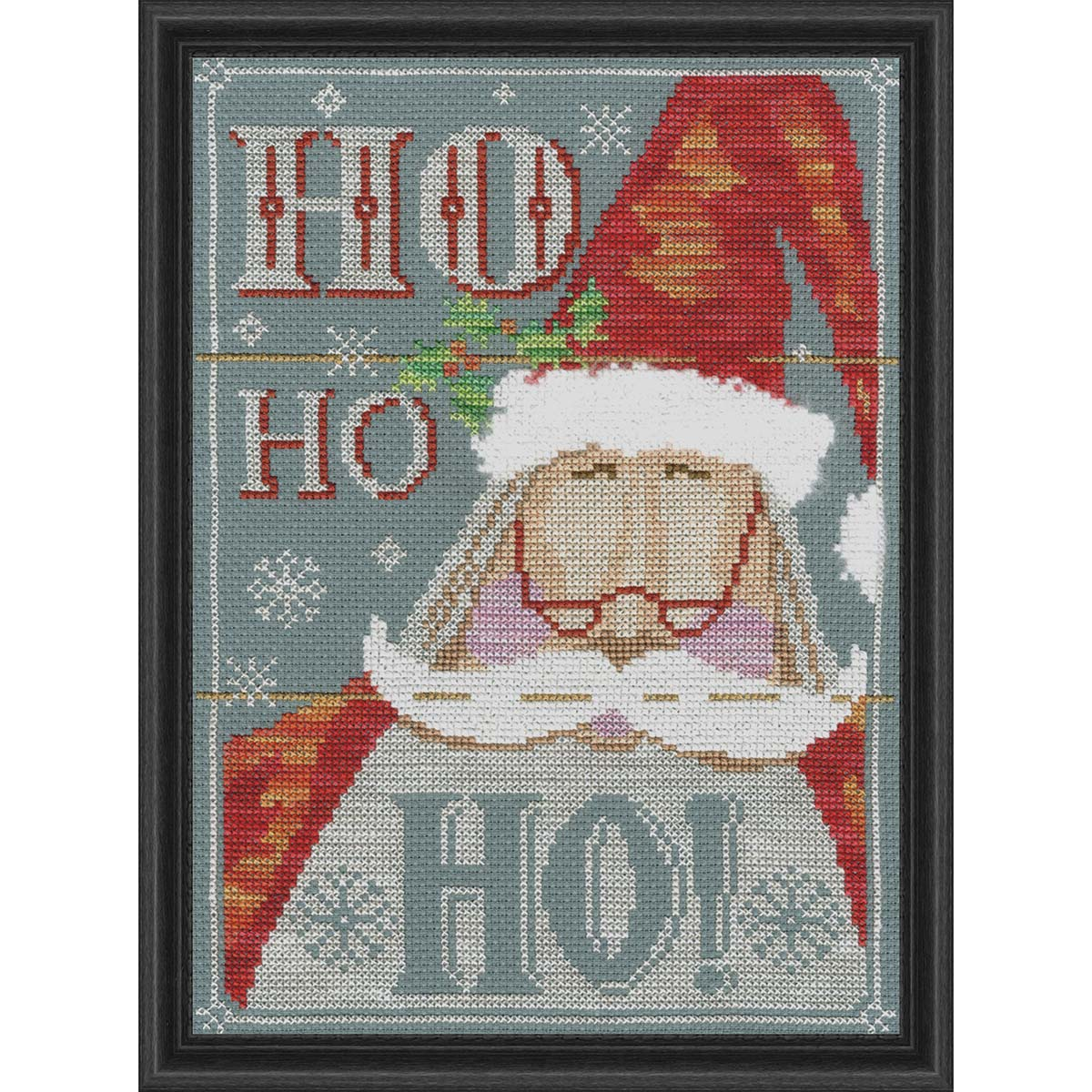 Bothy Threads Ho Ho Ho Counted Cross-Stitch Kit