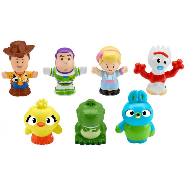 Fisher-Price Little People Disney Pixar Toy Story Character Figure 7-Pack