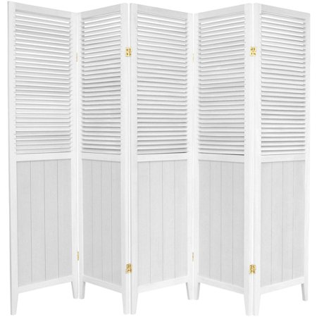 6' Tall Beadboard Room Divider - Carpet Dividers