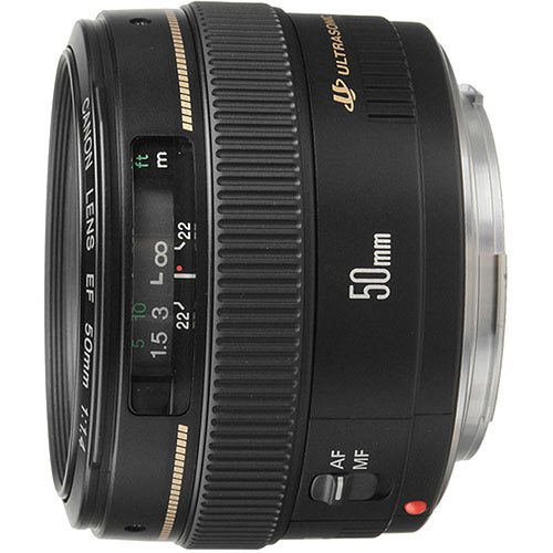 Canon 2515A003 EF 50mm f/1.4 USM Standard & Medium Telephoto Lens