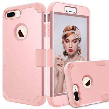 For  iPhone  6 Plus/6s Plus  3 In 1 Impact Defender Hybrid Heavy Duty (Olloclip 4 In 1 Iphone 6 Plus)