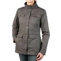 Moosejaw Women's Cadieux Insulated Canvas Jacket (Smoke)
