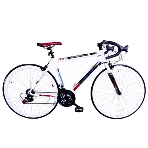 North Gear 901 14 Speed Road / Racing Bike with Shimano Components - White