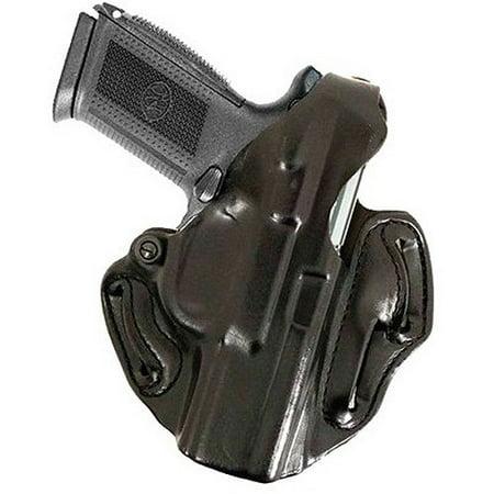 Hand 1911 Leather - DESANTIS GUNHIDE THUMB BREAK SCABBARD COLT 1911 LEATHER BLACK