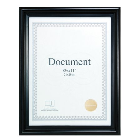 Enigma 8.5 In. by 11 In. Document Frame, -