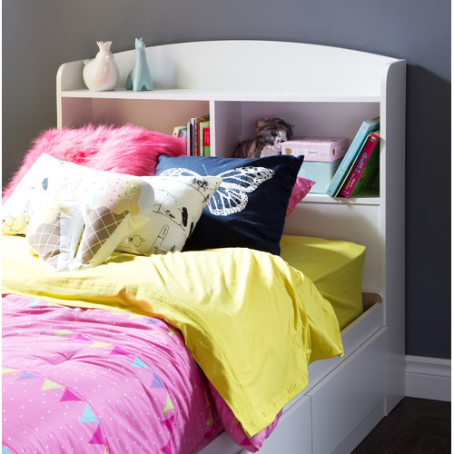 South Shore Logik Girls Twin Bookcase Headboard by South Shore